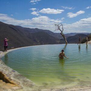 Hierve el Agua piscina
